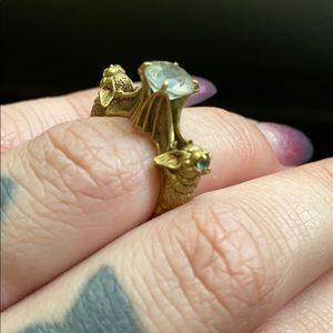 OMNIA custom size 5 , antique brass